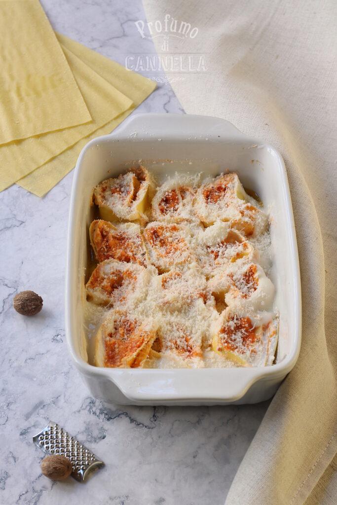 Rotolini di lasagna farciti