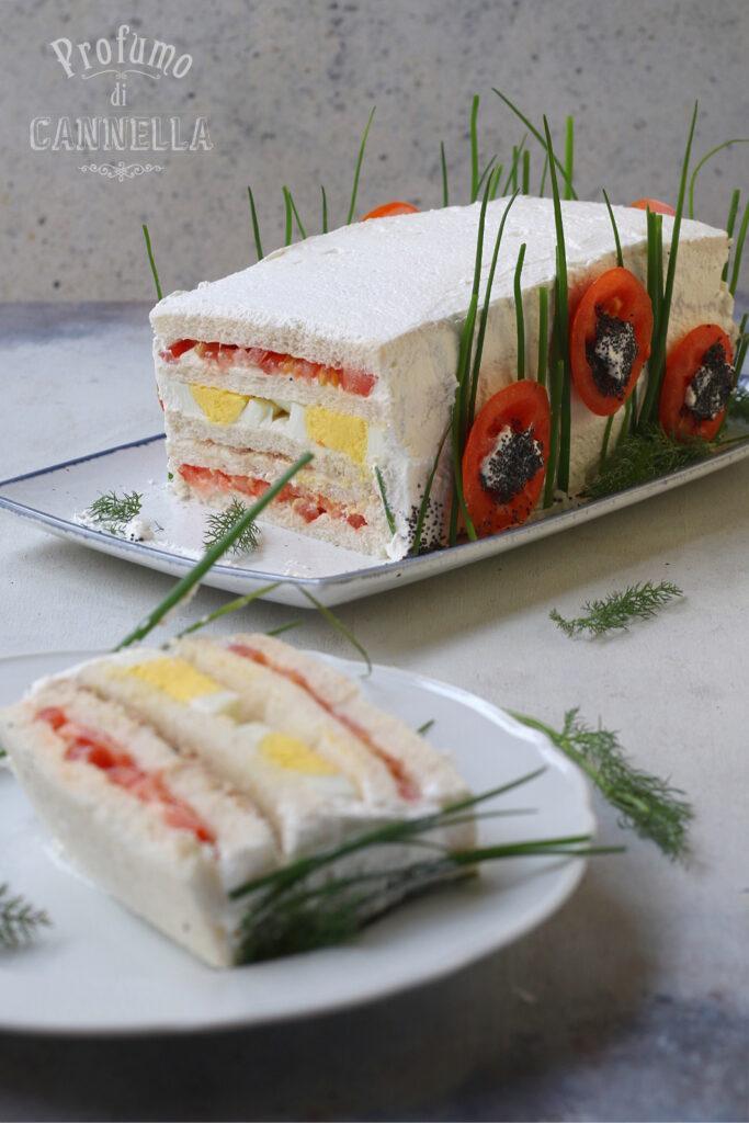 fette di torta tramezzino